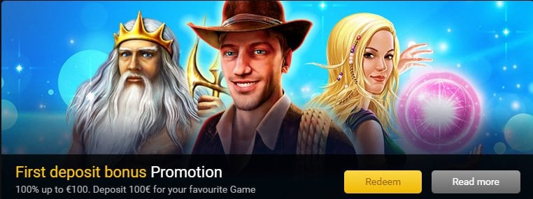 Stargames Casino Welcome Bonus offer-Get 100% up to 100 GBP