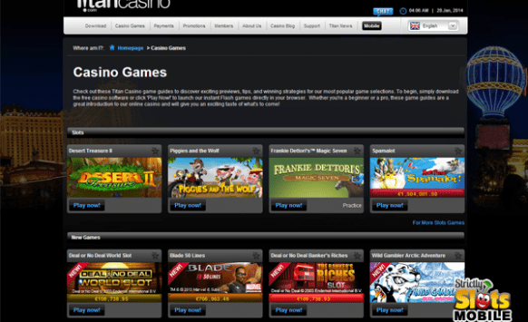 Casino games galore for table game fans