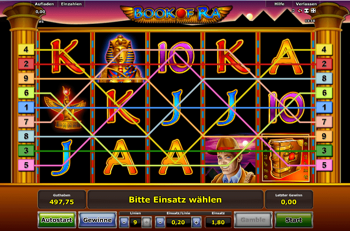 golden online casino book of ra spiel