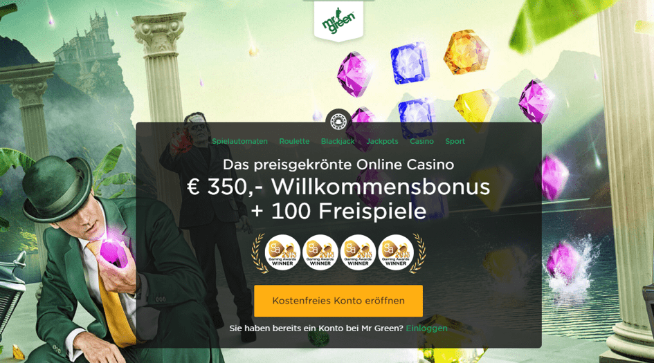 Casino Bonus Mr.Green Strategie